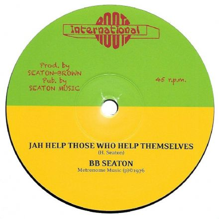SALE ITEM - BB Seaton - Jah Help Those / Aware Of Love (Roots International / Tabou 1) 12""